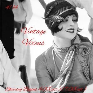 WEDNESDAY 4/14 Vintage Vixens Sign Up Sheet